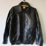 Womens Leather Patch Work Jacket in Yucca Valley, California