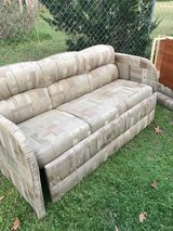 RV Jack knife couch, 66 inches wide, great shape in Warner Robins, Georgia