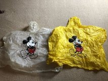 Kid Size Disney Rain Ponchos in Naperville, Illinois