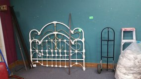 Cal king Iron ornate bedframe in 29 Palms, California