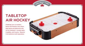 New tabletop air hockey in San Diego, California