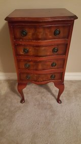 ANTIQUE FRENCH COUNTRY PROVINCIAL OAK NIGHTSTAND/SMALL DRESSER in Kingwood, Texas