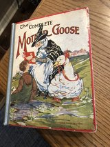 """Vintage 1928 """"The Complete Mother Goose"""" Hardcover Book in Lockport, Illinois"""