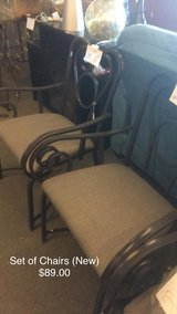 Set of Chairs (New) in Fort Leonard Wood, Missouri