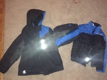 Boys Heavy Winter Coat Size S in Joliet, Illinois