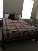 double bed with mattress in Kingwood, Texas