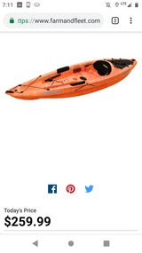 Kayak in Lockport, Illinois