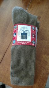 Boot Socks Coyote Brown 3pk sz9-11 in 29 Palms, California