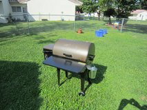 Traeger Smoker with cover in Okinawa, Japan