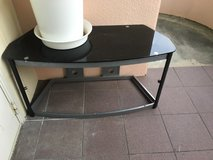 TV Stand coffee table glass top table in Okinawa, Japan