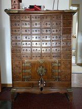 Large Chinese Antique Replica Medicine Chest in Spangdahlem, Germany