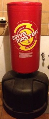 Century Original Wavemaster Freestanding Heavy Punching Bag + Pro Force Paddle Clapper Target in Ramstein, Germany