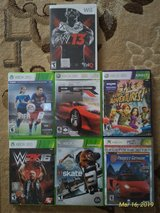 6 XBOX 360 Games and 1 Wii Game in Ramstein, Germany