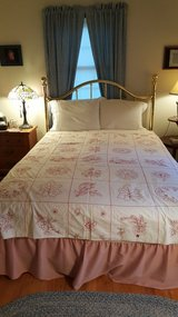 Red & White Coverlet - 1900's in Naperville, Illinois