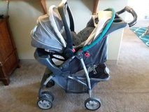 Graco click connect stroller and carseat in Fort Riley, Kansas