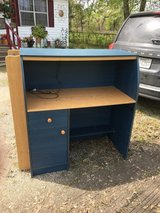 Small desk with light in Kingwood, Texas