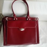 "Laptop bag in ""Red Leather"" in Wiesbaden, GE"
