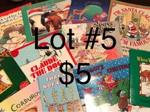 Christmas books (Lot #5) in Ramstein, Germany