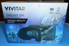 (1J) Vivitar Dream On Virtual Reality Headset VR 160 (New) in Tomball, Texas