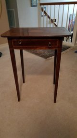Antique French inlaid mahogany directoire/ coffee table in Kingwood, Texas