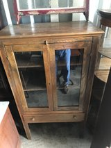 Antique Oak Pie Safe Country Cabinet in Cherry Point, North Carolina