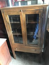 Oak Pie Safe Country Cabinet in Cherry Point, North Carolina