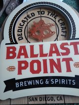 Ballast point neon sign in Clarksville, Tennessee