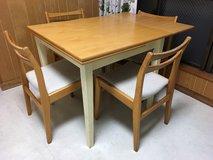 Dining table set in Okinawa, Japan
