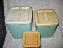 Vintage Flour/Sugar/Tea Containers in Okinawa, Japan