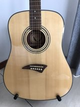 Dean acoustic TS2 left hand guitar in Okinawa, Japan