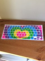 Colourful Heart Silicone MacBook Keyboard cover in Lakenheath, UK