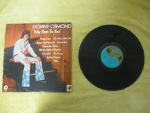 "Donny Osmond-""My Best To You"" 1972 LP Vinyl in Kingwood, Texas"