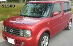 Nissan Cube Cubic (3 Row seat) in Okinawa, Japan