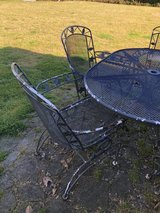 Metal Patio Set in Camp Lejeune, North Carolina