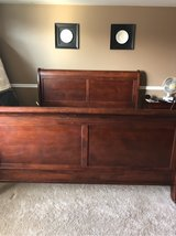 king size sleigh bed frame in Naperville, Illinois
