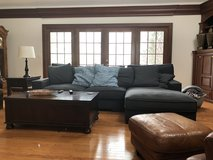 couch Sectional and chair in Wheaton, Illinois
