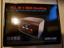 """All In 1 Multi-function HDD Docking Station CH-329U3S High Speed Support ALL 2.5"""" or 3.5"""" SATA HDD in Ramstein, Germany"""