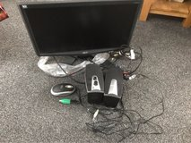 PC Screen/Mouse/Speaker in Lakenheath, UK