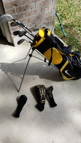 Left handed junior nike golf clubs in Kingwood, Texas