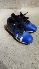 Toddler size 12 baseball cleats in Houston, Texas