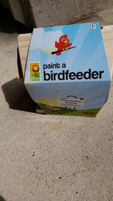 New paint your own bird feeder in Houston, Texas