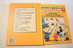 Vintage 1980 Charlie Brown's Cyclopedia Volume 3 Hard Cover Book Featuring All Kinds of Animals in Joliet, Illinois