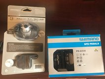 New Bike Light and New Bike Clip SPD Pedals in Aurora, Illinois