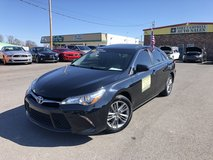 2016 TOYOTA CAMRY SE SEDAN 4-Cyl 2.5 LITER in Fort Campbell, Kentucky