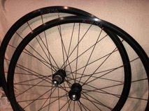 H-Plus Son Archetype clincher wheel set, Soul Kozak M-netic hubs in Okinawa, Japan