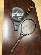 Prince Pro Tennis Racquet and Cover in Yorkville, Illinois