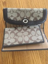Coach Checkbook/wallet in Naperville, Illinois