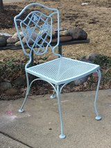 Wrought Iron Patio Chair in Naperville, Illinois