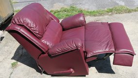 real Leather recliner rocking chair in Okinawa, Japan