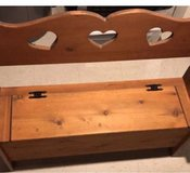 Wood Bench in Bolingbrook, Illinois